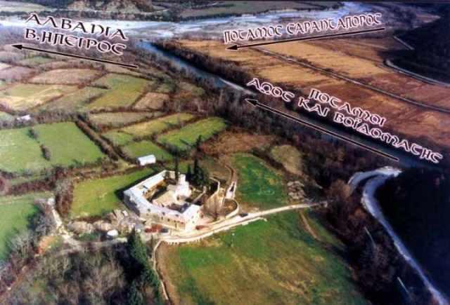 ΚΟΝΙΤΣΑ…Η Ιερά Μονή Μολυβδοσκεπάστου | Επαρχία Κόνιτσας