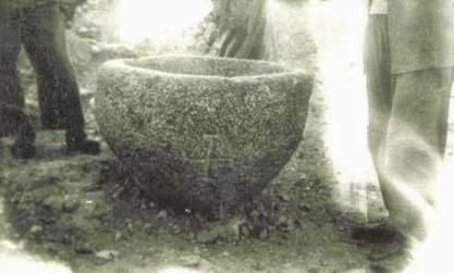 Η Κολυμβήθρα που βαπτίστηκε ο Άγιος Παΐσιος από τον Άγιο Αρσένιο